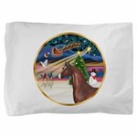 ORN-XmasMagic-ArabianHorse Pillow Sham