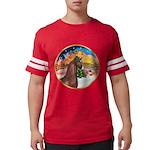 ORN-XmasMusic2-ArabianHorse Mens Football Shir