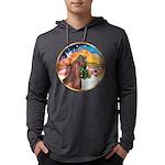 ORN-XmasMusic2-ArabianHorse Mens Hooded Shirt