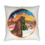 ORN-XmasMusic2-ArabianHorse Everyday Pillow