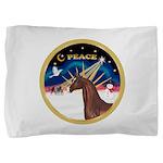 ORN-XmasSunrisePEACE-ArabianHorse Pillow Sham