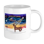 Christmas Sunrise - Brown Arabian Horse 20 oz