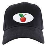 Cherry Black Cap with Patch