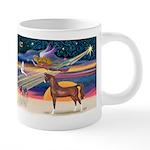 Christmas Star - Brown Arabian Horse 20 oz Cer