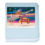 Christmas Star - Brown Arabian Horse baby blan