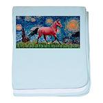 LIC-Starrynight-Horse-=brown-Lightening baby b