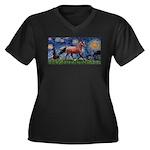 LIC-Starrynight-Horse-=brown-Lightening Women'