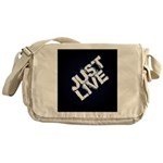 just live Messenger Bag