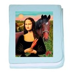 MP-Mona Brown HorseLightening baby blanket