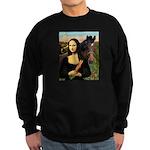 MP-Mona Brown HorseLightening Sweatshirt (dark