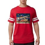 Xmas Star Buckskin Horse Mens Football Shirt
