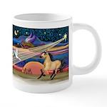 Xmas Star Buckskin Horse 20 oz Ceramic Mega Mug