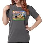 Cloud Star & Buckskin horse Womens Comfort Col