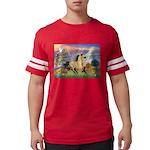 Cloud Star & Buckskin horse Mens Football Shir