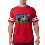 Starry Night Buckskin Mens Football Shirt