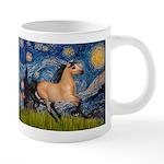 Starry Night Buckskin 20 oz Ceramic Mega Mug