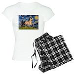 Starry Night Buckskin Women's Light Pajamas