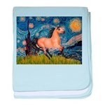 Starry Night Buckskin baby blanket