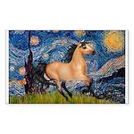 Starry Night Buckskin Sticker (Rectangle 50 pk)
