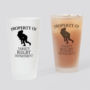 Varsity Rugby Department Drinking Glass