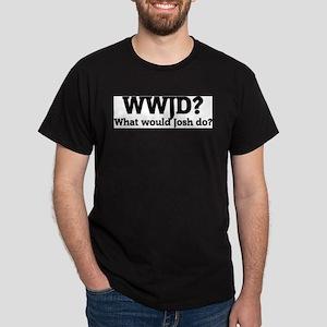 What would Josh do? Ash Grey T-Shirt