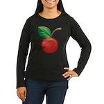 Cherry Women's Long Sleeve Dark T-Shirt