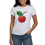 Cherry Women's Classic White T-Shirt