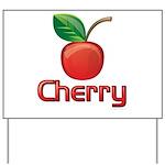 Cherry Yard Sign