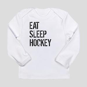 Eat Sleep Hockey Long Sleeve T-Shirt