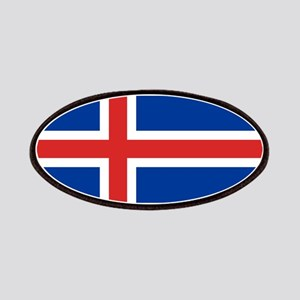 Iceland Flag Patch