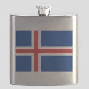 Iceland Flag Flask
