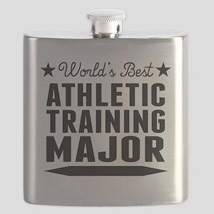 World's Best Athletic Training Major Flask