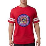 Labyrinth4-with shine1 Mens Football Shirt