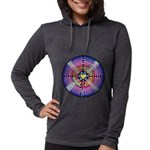Labyrinth4-with shine1 Womens Hooded Shirt