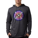 Labyrinth4-with shine1 Mens Hooded Shirt
