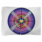 Labyrinth4-with shine1 Pillow Sham