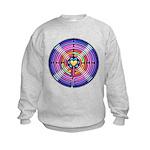 Labyrinth4-with shine1 Kids Sweatshirt