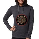 Heart Center-1 Womens Hooded Shirt