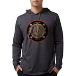 Heart Center-1 Mens Hooded Shirt