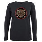 Heart Center-1 Plus Size Long Sleeve Tee