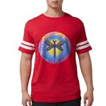 R-LGLG-Dragonfly-sun-border1 Mens Football Shirt