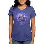 R-LGLG-Blue-Purp-B-FLY Womens Tri-blend T-Shirt
