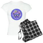 R-LGLG-Blue-Purp-B-FLY Women's Light Pajamas