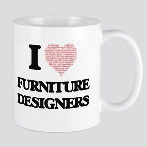 I love Furniture Designers (Heart made from w Mugs