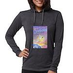 T-LGLG-Dove-World Womens Hooded Shirt
