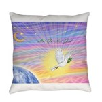 T-LGLG-Dove-World Everyday Pillow