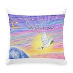T-LGLG-Dove-World Everyday Pillow