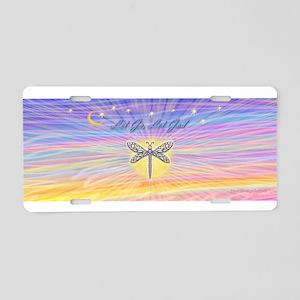LGLG-Dragonfly-multi-8x10 Aluminum License Plate