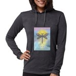 LGLG-Dragonfly1 Womens Hooded Shirt
