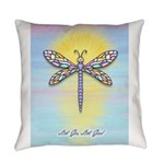 LGLG-Dragonfly1 Everyday Pillow